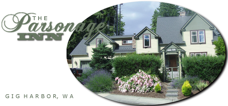 The Parsonage, Gig Harbor Bed and Breakfast, Lodging, Accommodations, Inn, Hotel, Motel